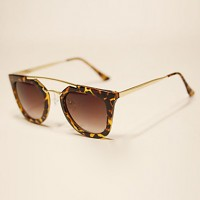 Sunglasses Men/Women/Unisex & #039;S Classic/Retro/Vintage/Sports Flyer Black/Brown/Leopard Sunglasses Full-Rim