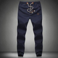 Low prices Classic Embroidery Mens closing leg casual pants plus fertilizer XL mens fashion casual pants