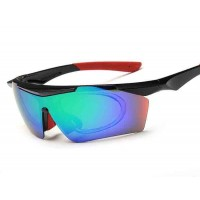 GL817 sports polarized sunglasses large frame sunglasses can be equipped with wind and glasses Colorful sunglasses