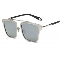 P8139 new models polarizer tide polarized sunglasses mirror sunglasses color film metal metal Material discount glasses