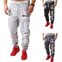 Low price selling low price men's dress pants fashion letters printed