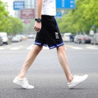 Low price summer new style men's pants five pants sports stars and colorful men's beach pants