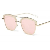 0742 new style sunglasses European market and the US market trend sunglasses Ms. sunglasses glasses metal material discount