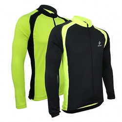 Arsuxeo Men & #039;S Cycling Jersey Long Sleeves Bike Bicycle Jersey Long Sleeve Outdoor Sporting Coat