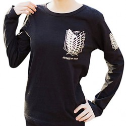 Attack On Titan & Quot;Wings Of Freedom & Quot; Cosplay Gilding T-Shirt