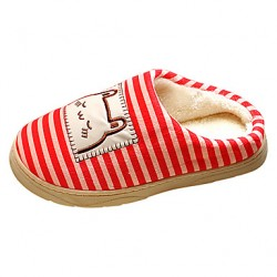 Women & #039;S Shoes Round Toe Flat Heel Fleece Slippers Shoes More Colors Available