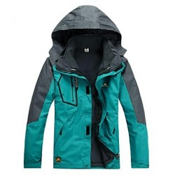 Cikrilan? Men Outdoor Tops/3-In-1 Jackets/Soft Shell/Fleece Waterproof/Windproof Winter/Autumn Camping & Hiking/Fishing