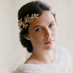 Handmade Rhinestone Bridal Headpiece Roman Crystal Bridal Hair Accessories Wedding/Special Occasion Headbands