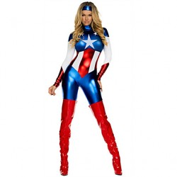 Captain America Female As Picture Cosplay Costumes