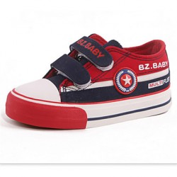 Boys & #039; Shoes Casual Canvas Fashion Sneakers Blue/Gray