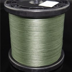 1000M/1100 Yards Pe Braided Line/Dyneema/Superline Fishing Line White/Yellow/Gray/Glass Green8Lb/20Lb/25Lb/30Lb/35Lb