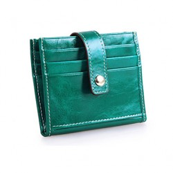 Unisex Cowhide Sports/Casual/Outdoor/Office & Career Card & Id Holder/Business Card Holder