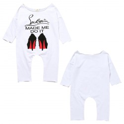 Baby Girl Cotton Romper Hug Life Jumpsuit Playsuit Outfits Bodysuit