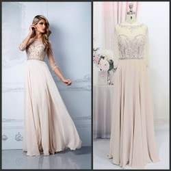 2015 The new high-end hand-beaded evening dress toast clothing bridesmaid dress sexy dress chaired