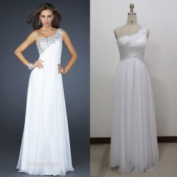 2015 summer new toast shoulder dress sexy halter hand-beaded long section of elegant evening dress bridesmaid dress