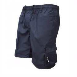 Men's Pocket Loose Outdoor Solid Color Short Pants
