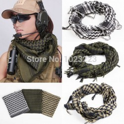 2017 British New Fashion Arab Shemagh Keffiyeh Military Tactical Light Scarf Shawl Muslim Scarf Men Wraps Scarves Islamic Hijab