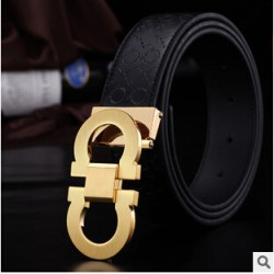 2017 Fashionable Designer Famous Genuine Leather Brand Luxury Belts Men Women Belts Original Casual Dress Aolly Smooth Belts 08275