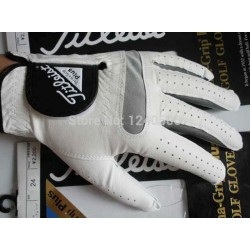 Free Shipping 2017 New Arrival Golf Gloves Mens Full Leather Play Essential Antiskid A Well-Known Brand Left Hand Right Handed