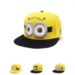 2017 Lovely Minions Hip Hop Hat Gorras Hats Sport Kids Baseball Caps Parent Children Women Men Casquette Canvas Snapback Cap