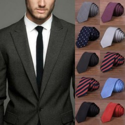 2017 Popular New Fashion Male Brand Slim Fashionable Designer Knitted Neck Ties Cravate Narrow Men Neckties Tie For Men Shirt Tie Skinny W1