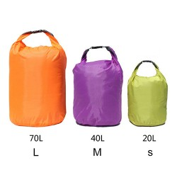 New Popular 20~70L Water Resistant Dry Bag Storage Outdoor Sports Canoe Boating Camping Drifting 51Nt