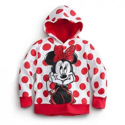 Fast shipping hot selling hot selling fast sales pattern bow Minnie hoodies Spring and Autumn hot models
