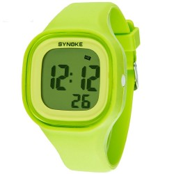 Popular colorful luminous watches students watch waterproof silicone material couple watches