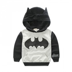 Boys long-sleeved low price fast shipping promotion children's hooded sweater coat Spring and Autumn paragraph Batman hoodies
