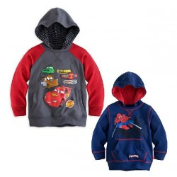 Boys Cotton Promotion cotton prices low rider Spiderman pattern hooded sweater hoodie hedging