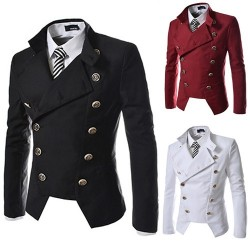Low price hot sell men's dress suit Slim small suit men's double-breasted design