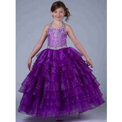 Children princess dress flower girl princess dress bohemian skirt European market and the US market lower prices girls dresses performance clothing discounts