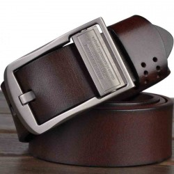 Brand men's belt leather belt men's first layer of leather belt hot belt