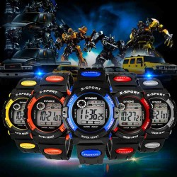 Popular high quality products fashion students watch children watch boys waterproof sport utility Promotions