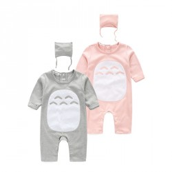Boys and girls spring and autumn cotton jumpsuit piece coveralls Chinchilla Hot fast shipping low price children's clothing