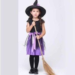 Childrens Halloween costume festival performances skirt suit cosplay witch costume dance costume children