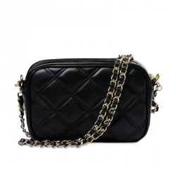 Modern sheepskin diamond chain packet shoulder bag brand leather ladies bag promotional discounts