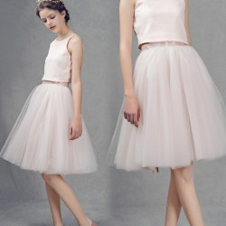 High-low price beautiful spring and summer new style skirt fashion with a small silver high-end custom discounts