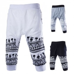 Lower selling prices of new style trends skull print pants style pant