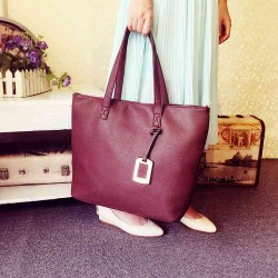 2016 new ladies bag lady shoulder bag hot embossed Tote