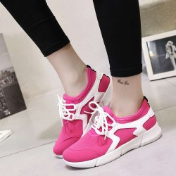 The new Ms. breathable casual shoes student style tie lacing spring and summer with a tour running shoes Promotions
