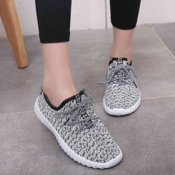 Summer to help low lacing white shoes soft bottom flat heel ladies shoes breathable sports shoes running shoes casual sneakers