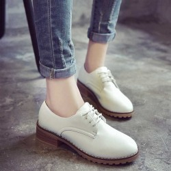 Autumn British style retro rough with Ms. Martin boots tendon shoes popular white wind SHOES