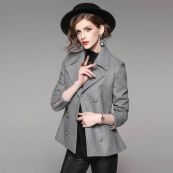 Autumn popular new models in Europe and the US market, international brands of high-grade wool suit Ms. fast delivery