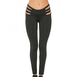 CatchyMarket Women's Hollow sexy ElasticSports Yoga Pants