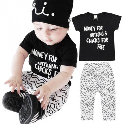 Baby Kids Toddler Boy Tops Pants Outfits Clothing Set