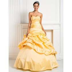 Prom/Formal Evening/Quinceanera/Sweet 16 Dress- Daffodil Plus Sizes/Petite Princess/Ball Gown/A-Line Sweetheart/Strapless