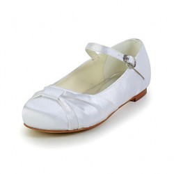 Girl & #039;S Shoes Wedding Shoes Comfort Flats Wedding Black/Blue/Pink/Purple/Red/Ivory/White/Silver/Gold/Champagne