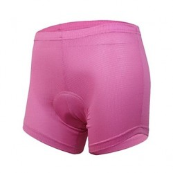 Arsuxeo Women & #039;S Cycling Underwear Shorts With Coolmax 3D Pad Pink
