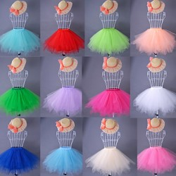Candy Color Organza/Satin/Taffeta Colorful Petticoat(More Colors)